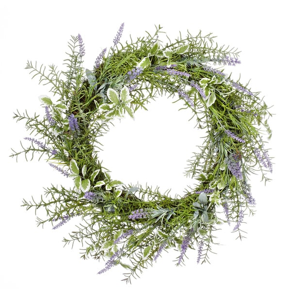 Herb Collection 22-inch Mixed Herb Wreath