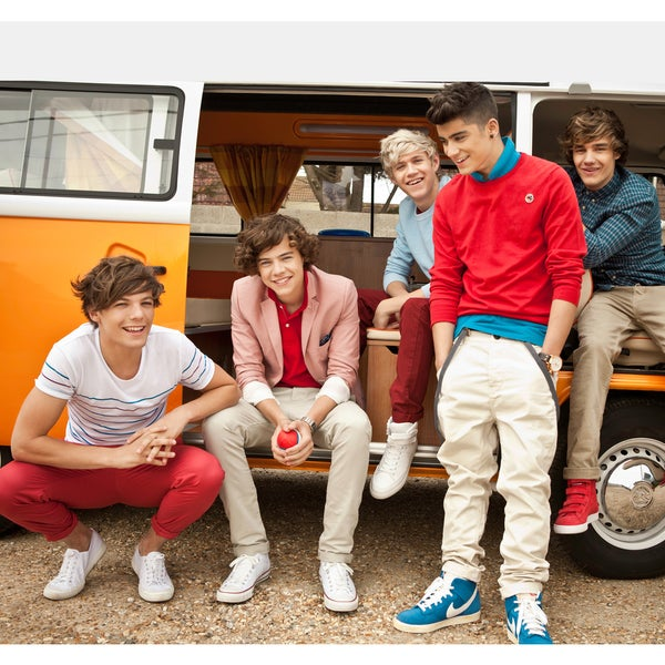 One Direction Campervan Vinyl Wall Mural