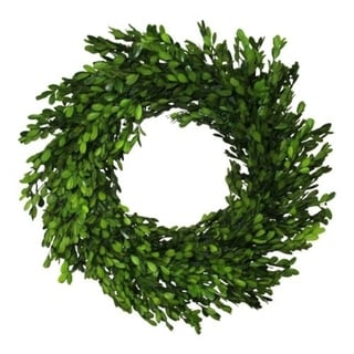Preserved Collection 22-inch Boxwood Wreath