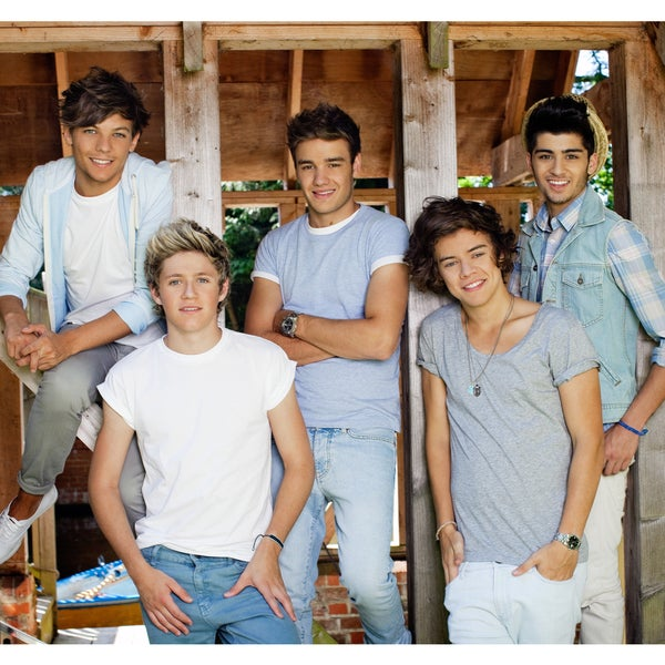 One Direction Barn Vinyl Wall Mural