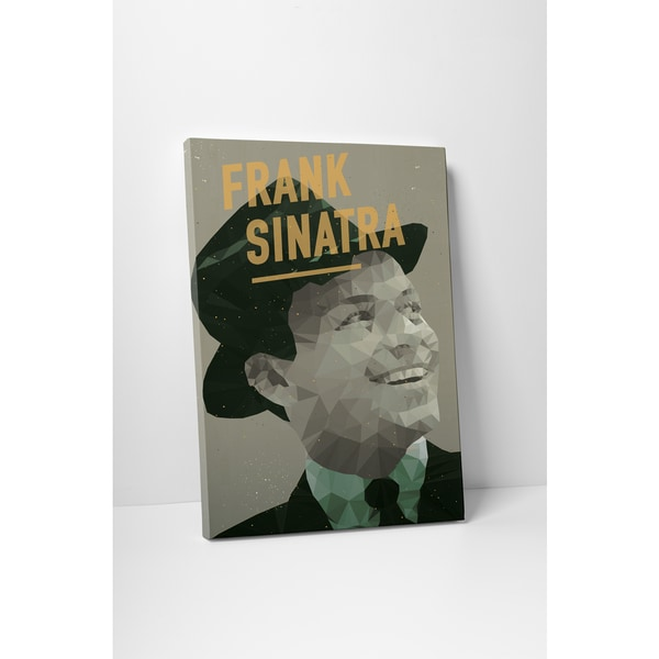 American Flat 'Frank Sinatra' Gallery Wrapped Canvas Wall Art