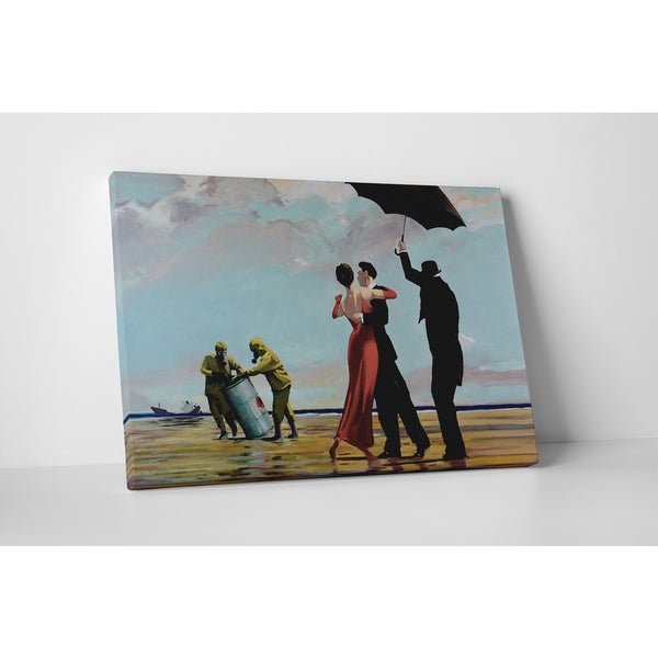 Banksy 'Tango on Toxic Waste' Gallery Wrapped Canvas Wall Art