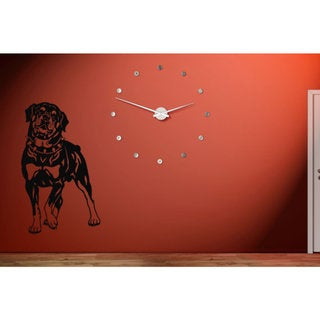 Rottweiler Dog Puppy Breed Pet Wall Art Sticker Decal