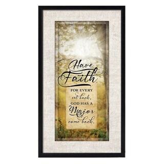 Dexsa Simple Expressions Have Faith Framed Plaque