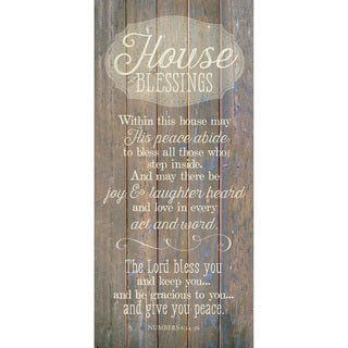 Dexsa House Blessing New Horizons Wood Plaque