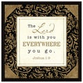Dexsa Lord Is With You Wood Frame Plaque with Easel