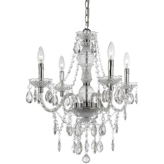 Naples Clear 4-light Mini Chandelier