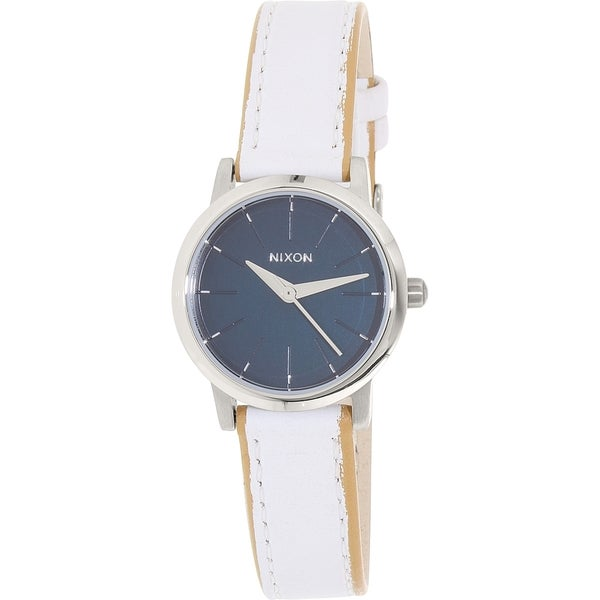 Nixon Women's White Leather Kenzi A398321 Quartz Watch