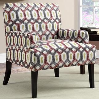 Barcelona LaPalma Design Geometric Patterned Accent Chair