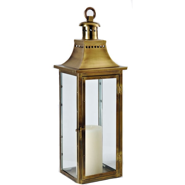 Traditions Antique Brass 30-inch Lantern