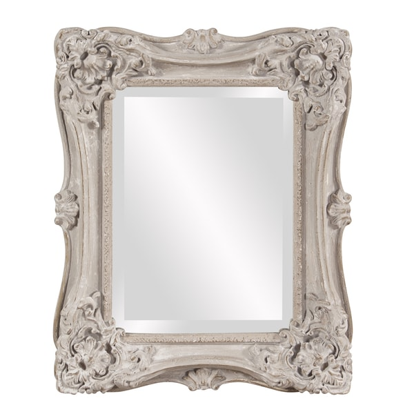 Sara Antique Taupe Rectangular Mirror