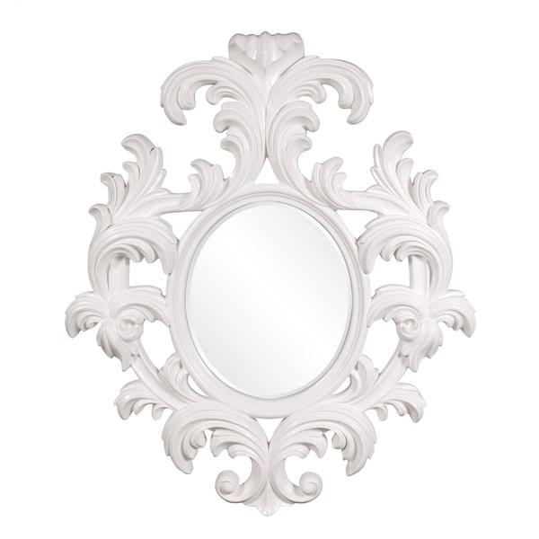 Alexi Glossy White Lacquer
