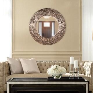 Linden Round Mirror