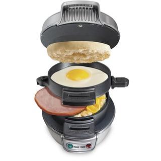 Hamilton Beach Breakfast Sandwich Maker (Recertified/Refurbished)