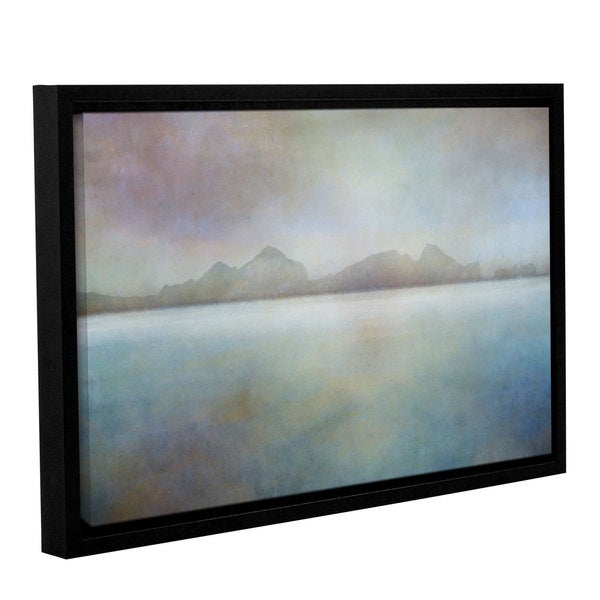 ArtWall Cora Niele's Landscape Iceland Westman, Gallery Wrapped Floater-framed Canvas