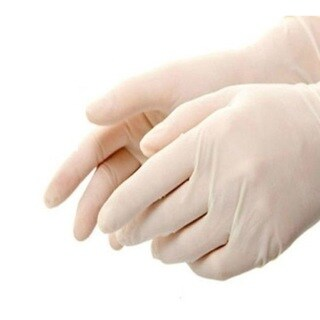 Latex Disposable Gloves Powdered 4 Mil Thick Size: Small (case of 1000 Gloves)