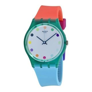 Swatch Unisex GG219 'Originals Candy Parlour' Colorful Silicone Watch