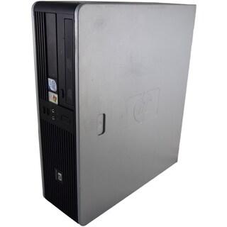 HP Compaq dc7800 SFF 2.2GHz Intel Core 2 4GB DDR2 250GB Windows 7 Home Premium 64-Bit Grey and Black PC (Refurbished)