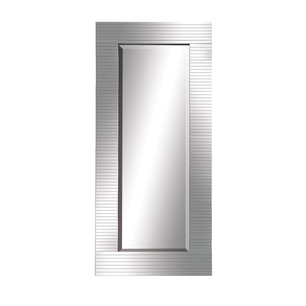 Silver Glass Wall Mirror