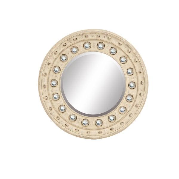 Circle Glam Wall Mirror