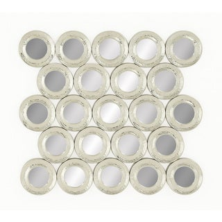 Sea of Circles Wall Mirror
