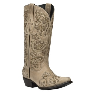 Black Star Leather Trinity Bone Boot