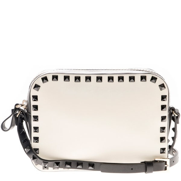 Valentino Rockstud Bicolor Camera Crossbody