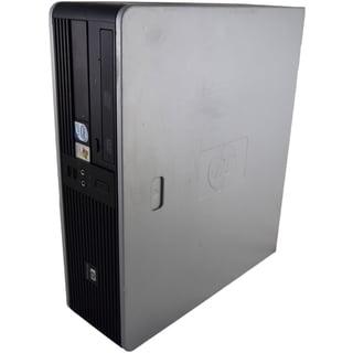 HP Compaq dc5700 SFF 1.86GHz Intel Core 2 4GB DDR2 320GB Windows 7 Home Premium 32-Bit Grey and Black PC (Refurbished)