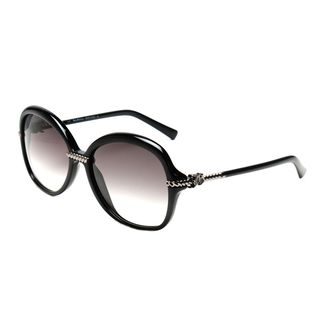 John Galliano JG0056s Black Plastic Oversized Frame Sunglasses