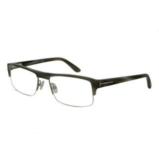Tom Ford Men's TF5241 Rectangular Reading Glasses