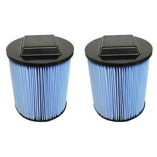 2 Ridgid VF5000 3-Layer Replacement Filters Fit 6-20 Gallon Wet/Dry Units