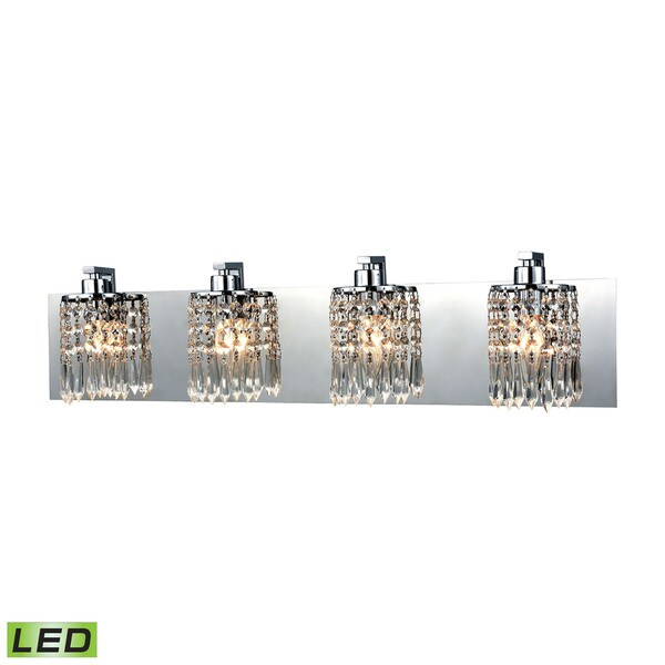 Elk Optix 4-light  LED Vanity in Polished Chrome 17474836