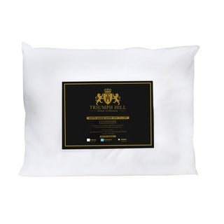 Triumph Hill Cotton White Down Bed Pillow