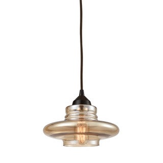 Elk Orbital 1-light LED Pendant in Oil Rubbed Bronze