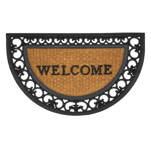 Maple Half Round Door Mat