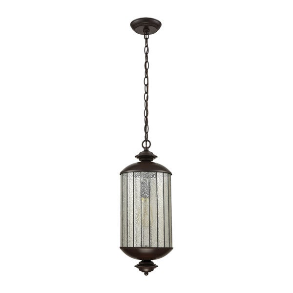 Elk Anders 1-light LED Pendant in Oil Rubbed Bronze