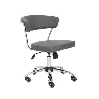 Euro Style Grey/ Chrome Draco Office Chair