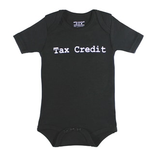 Tax Credit Short Sleeved Bodysuit