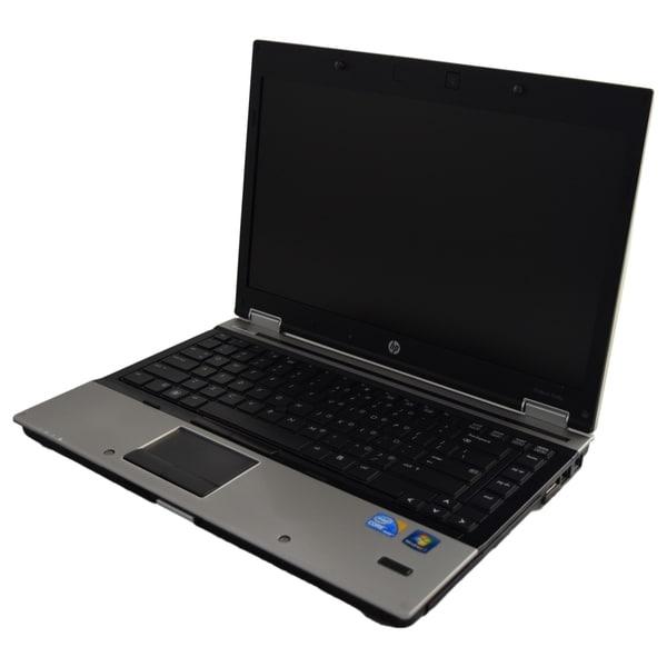 HP EliteBook 8440p 14.1-inch 2.67GHz Intel Core i7 4GB RAM 500GB Windows 7 Professional 64-Bit Silver Laptop (Refurbished)