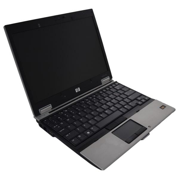 HP EliteBook 2530p 12.1-inch 1.86GHz Intel Core 2 4GB RAM 120GB SSD Windows 7 Professional 64-Bit Silver Laptop (Refurbished)