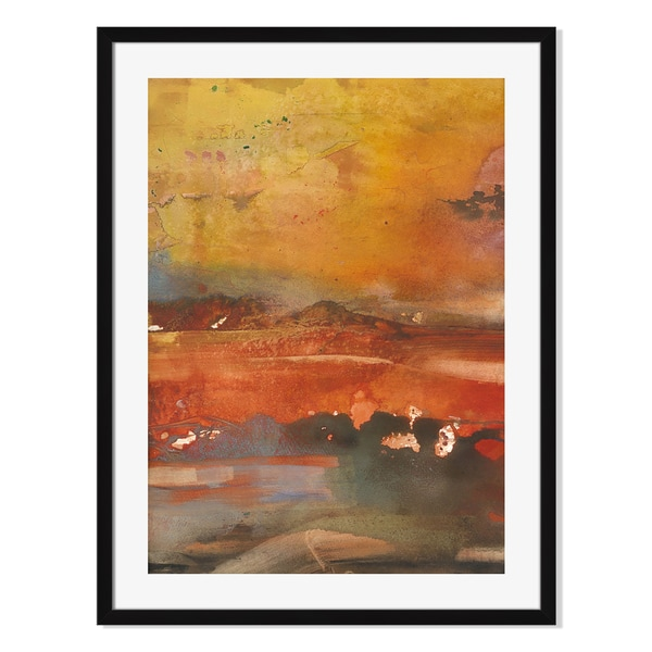 Gallery Direct Inferno Print by Tatara on Paper Framed Print