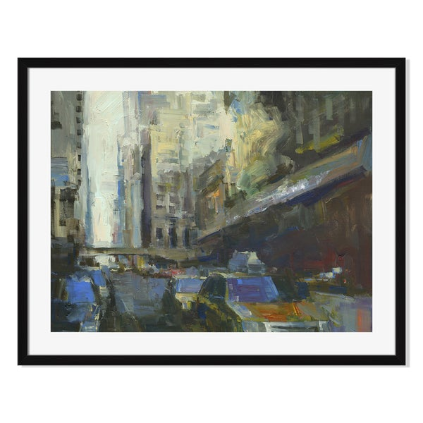 Gallery Direct Grand Central Station Early Morning Print by Darren Thompson on Paper Framed Print