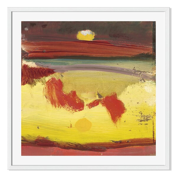 Gallery Direct Eccentric Abstraction VII Print by Sylvia Angeli on Paper Frame Wall Art