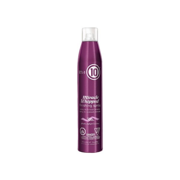 It's a 10 Miracle Whipped 10-ounce Finishing Spray