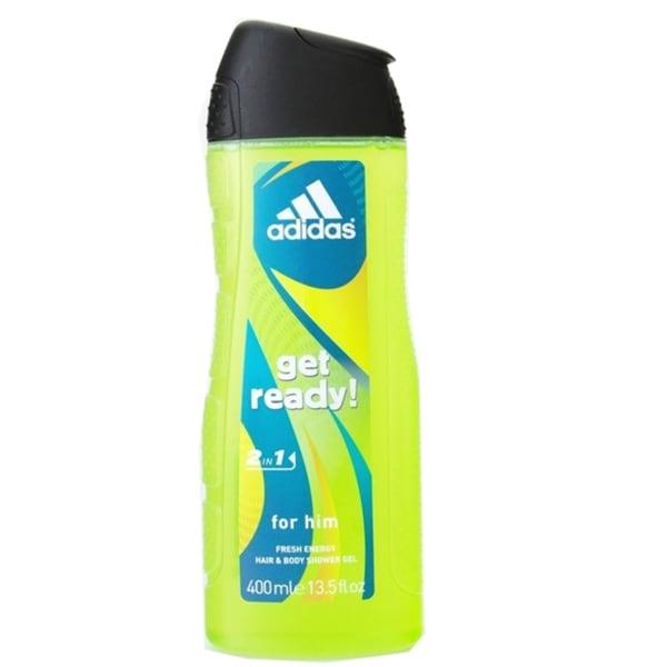 Adidas Get Ready 2-in-1 Fresh Energy Hair and Body Shower Gel