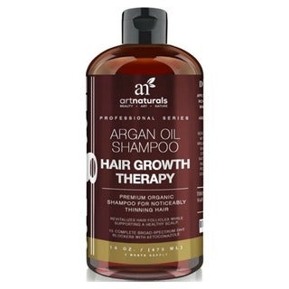 Art Naturals Organic Argan Oil Shampoo for Hair Loss Prevention