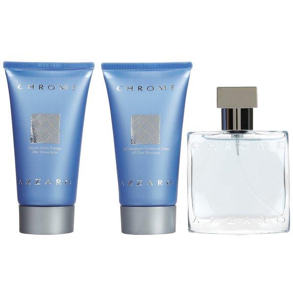 Azzaro Chrome Men's 3-piece Fragrance Gift Set