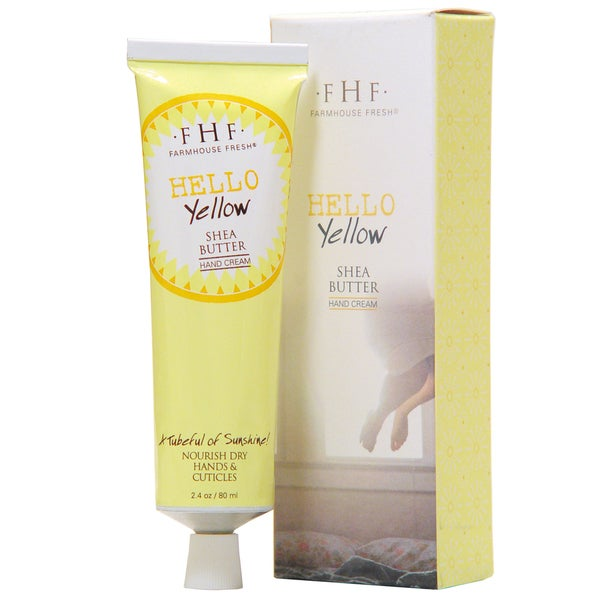 FarmHouse Fresh Hello! Yellow Shea Butter Hand Cream