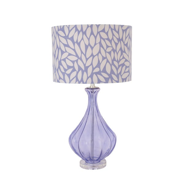 Purple Acrylic Table Lamp
