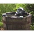 Man in Barrel Spitter Fountain